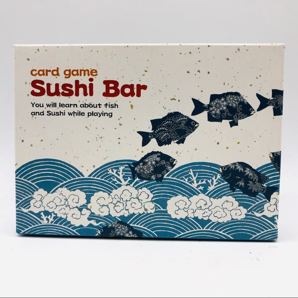 Sushi Bar card game New in Box. Learn About Sushi